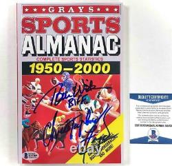 Christopher Lloyd & Tom Wilson signed Back to the Future sports almanac BAS COA