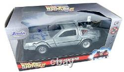 Christopher Lloyd autograph signed 132 Diecast Delorean Back to the Future PSA