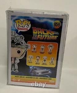 Funko Pop! Back To The Future Christopher Lloyd Signed Doc With Helmet
