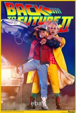 Hot Toys Back to the Future Dr. Emmett Brown 1/6 Figure Movie Collectible
