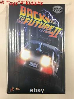 Hot Toys MMS 380 Back To The Future II 2 Dr. Emmett Brown Lloyd (Special Ver)