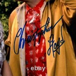 MICHAEL J FOX, CHRISTOPHER LLOYD, SHUE Signed BACK TO THE FUTURE 11x14 Photo BAS