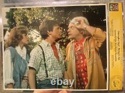 MICHAEL J FOX CHRISTOPHER LLOYD SIGNED 8x10 BACK TO THE FUTURE MOVIE CGC SS