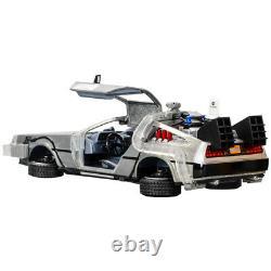 Michael J. Fox, Christopher Lloyd Autographed Back to the Future 124 DeLorean