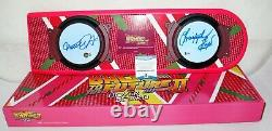 Michael J Fox Christopher Lloyd Back To The Future signed Hoverboard BAS Beckett