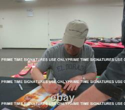 Michael J Fox Christopher Lloyd Signed Back To The Future 11x14 Photo Psa Loa F
