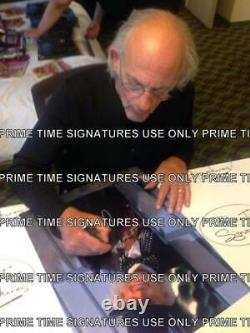 Michael J Fox Christopher Lloyd Signed Back To The Future 11x14 Photo Psa Loa H