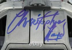 Michael J Fox Christopher Lloyd Signed Back To The Future 2 Delorean 124 Coa