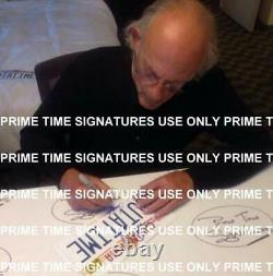 Michael J Fox Christopher Lloyd Signed Back To The Future Outatime Plate Psa Loa