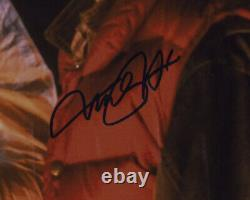 Michael J Fox Christopher Lloyd Signed Framed 16x20 Back to the Future Photo JSA