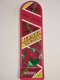 Michael J Fox Christopher Lloyd Signed Hoverboard Back To The Future Autographed