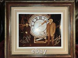 Michael J Fox Christopher Lloyd autograph 11x14 photo Back to the Future Signed