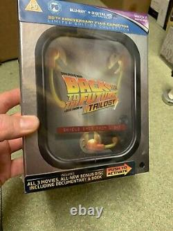 RARE Back to the future Blu Ray ltd Flux Capacitor NEW & SEALED